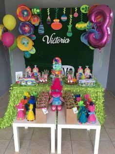 Trolls Birthday Party Ideas   Photo 12 of 13