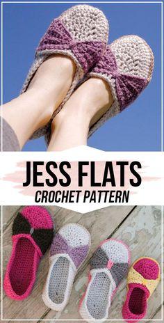 crochet The Jess Flats pattern - easy crochet shoes pattern for beginners Source by beginner Diy Crochet Shoes, Crochet Booties Pattern, Crochet Elephant Pattern, Crochet Slipper Pattern, Crochet Sandals, Crochet Slippers, Crochet Clothes, Easy Crochet, Crochet Patterns