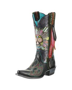 HOLY COW!!! Somebody shoot me!!! I LOVE LOVE LOVE THESE BOOTS! Anyone good for a small loan! LOL! Love what they say on the back! (Don't walk in fear!