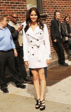 The shiny Jennifer Lawrence