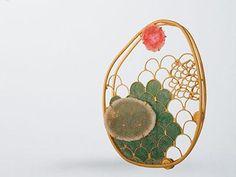 """""""Klimt"""" by Sarah Lindsay. 2008."""