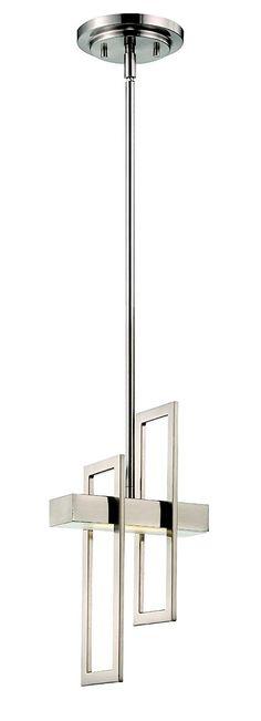 Nuvo Lighting 62 106 Frame Led One Light Pendant 4 8 Watt 285 Lumens Soft White