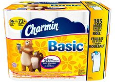 Save $1.00 Off Charmin Basic or Essential Bath Tissue!