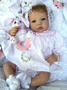 """Reborn Baby Doll, Gorgeous, """"Kelsie"""" Shyann, by Aleina Peterson"""