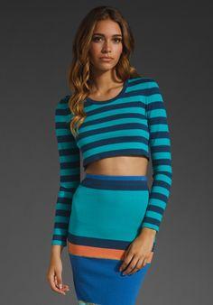 Emma Crop Sweater & Ronny Skirt