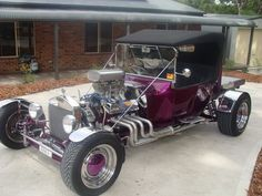 1923 FORD MODEL T  351 Cleveland Motor. Twin 465 Holley carburettors. C4 Transmission. Jag rear end. Runs well a big head turner. Club rego.  $45,000 ono
