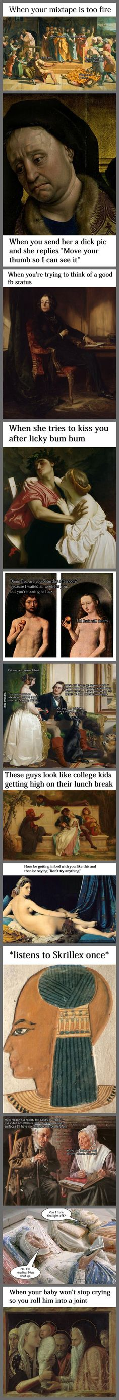 Classical Art Memes Latest (Part-20)