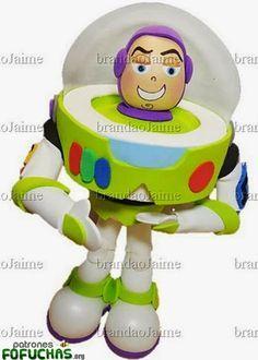 Patrones Fofuchas - Toy Story Buzz