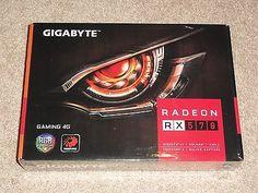 ﹩399.95. GIGABYTE GV-RX570GAMING-4GD RADEON RX 570 GAMING 4GB GDDR5 OC GRAPHIC CARD RX570    Chipset/GPU Manufacturer - AMD, Chipset/GPU Memory Size - 4GB GDDR5,