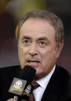 Al Michaels - Best NFL play by play announcer in the business. The voice of Monday Night Football, when MNF mattered. And,  the man that called the USA victory over USSR in the 1980 Olympics.