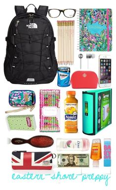 Back to School Middle School Supplies, Middle School Hacks, High School Hacks, Life Hacks For School, Back To School, School Bag Essentials, Backpack Essentials, School Backpack Organization, Locker Organization
