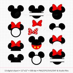 Buy 2 Get 1 Free Digital Clipart Mickey Mouse Head Monogram Minnie Mouse Clipart, Mickey Mouse Head, Mickey Mouse Shirts, Mickey Mouse Silhouette, Disney Diy, Disney Crafts, Disney Cruise, Disney Monogram, Printable Images