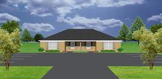 Duplex plan PlanSource, Inc Duplex Plans, Duplex House Design, Corner Lot, Investment Property, Townhouse, Craftsman, House Plans, Shed, Outdoor Structures