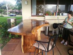 Kini @ WoodWorkingHawaii 808-227-9473 - Solid Wood Furniture - Tropical Hardwoods - Monkey pod - Koa: WoodWorkingHawaii  koa furniture  koa wood slab furniture  reclaimed furniture reclaimed wood