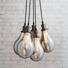 If you're looking for your lightbulb moment, nothing could be better than the Lucent Cluster Light. This fitting features one of the most iconic shapes in the h