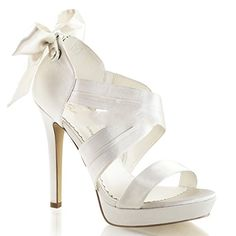 Fabulicious Lumina-29 sexy Burlesque High Heels Plateau Sandaletten Satin Elfenbein Weiss 35-42 - http://on-line-kaufen.de/fabulicious/fabulicious-lumina-29-sexy-burlesque-high-heels