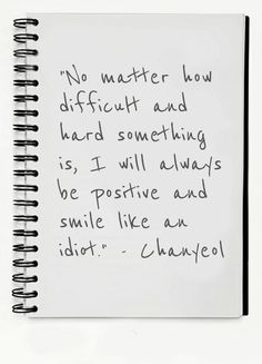 Chanyeol quote :D #kpop #exo AMEN, Chanyeol!!! Me, too!