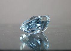 Blue Topaz Loose Gemstone. Nice Octagon Fancy Cut. 20.65 carats. from DanPickedMinerals, $100.00