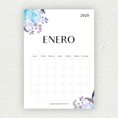 Calendario para imprimir 2020 - Papelería para Imprimir Printable Calendar 2020, School Calendar, Kids Calendar, January Calendar, Valentines Date Ideas, Valentine Day Gifts, Mardi Gras Spring Break, Funny Calendars, Diy Agenda