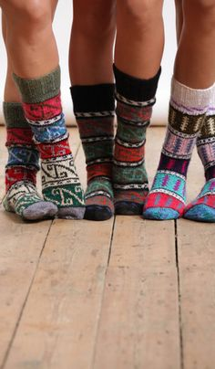Winter Socks. If you're like me and don't wear shoes indoors cute socks are a great way to  make a statement.