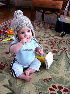 ac7d7d268db A quick and easy earflap hat pattern for babies and toddlers that can be  easily changed