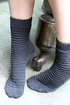 Socks by Sock Dreams » Socks Special Collections » Eg Smith » EG Eco Slinky Crew
