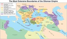 Maps of Vast Empires That No Longer Exist - love these - the maps keep changing