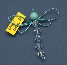 Wire and beads and you get dragonfly.