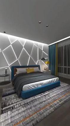 Hotel Bedroom Design, Bedroom False Ceiling Design, Ceiling Design Living Room, Bedroom Furniture Design, Master Bedroom Design, Bedroom Wall Designs, Bed Furniture, Bedroom Decor For Small Rooms, Modern Bedroom