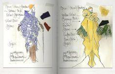 Modeconnect.com - Jasper Conran Design Sketches #fashionillustration