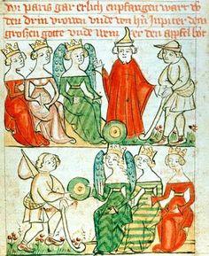 Historia Troiana, 1395-1400, Wenen, Österreichische Nationalbibliothek, cod. 2915 ; fol. 2r page 16