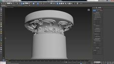 Modeling Complex Carvings and Shapes on Uneven Surfaces in 3ds Max, 3D Studio Max Tutorials, Free 3D Studio Max Tutorials, 3D Studio Max, 3Ds Max Tutorials, 3dsmax, 3d modeling, script, SlideKnit, tutorial, dkcgi