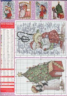Gallery.ru / Фото #1 - Christmas Chartbook - Auroraten