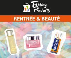 Pharmacie Lafayette : Rentrée & Beauté 1000 lots de 3 produits soins et cosmétiques offerts