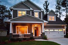 This could be my favorite plan.   Craftsman Style House Plan - 4 Beds 2.5 Baths 1946 Sq/Ft Plan #48-115 Exterior - Front Elevation - Houseplans.com
