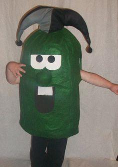 Larry the cucumber- Veggie Tales. Halloween Costume.