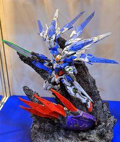 """NG 1/100 00 Raiser """"REGNANT CLAW"""" Custom Build - Gundam Kits Collection News and Reviews"""