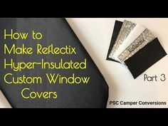 I show how to make custom fit 5 layer Reflectix insulated light blocking privacy stealth window cover inserts that are easily removed and stored in your camp. Van Curtains, Camper Curtains, Privacy Curtains, Insulated Curtains, Thermal Curtains, Window Condensation, Camper Windows, Light Blocking Curtains, Stealth Camping