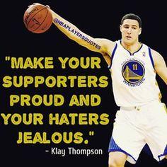 Klay Thompson Quote