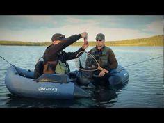 Ett fiskeår längs Vindelälvsdalen del 4 - Flugfiske efter grov öring och röding i midsommartid