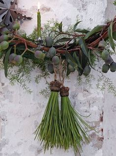 ~ beautiful, natural wreath from Dietlind Wolf
