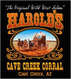 Feel like dancing?  Head to Harold's Corral, in Cave Creek.
