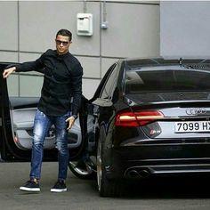 "Audi 24/7 on Instagram: ""Cristiano loves his S8! • Follow @menstylle_ • • Photo via @audirs_insta •"""
