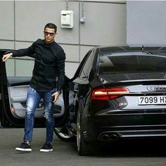 "Audi 24/7 on Instagram: ""Cristiano loves his S8! • Follow @menstylle_ • • Photo via @audirs_insta •"""