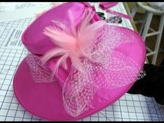 How to make a silk hat  ✄  http://www.youtube.com/watch?v=4D4asnU1U9s