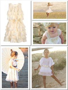 Five Rustic Flower Girl Dresses via http://littlemintkitchenette.com/