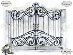 Кованые ворота заборы и калитки фото эскизы картинки 12