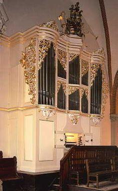 St Jakobikirche - The Great Silbermann Organ (1714), Freiberg Cathedral, Saxony