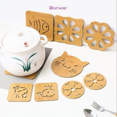 Coasters, Kitchen, Products, Cooking, Coaster, Kitchens, Cuisine, Cucina, Gadget