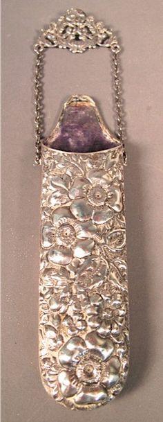La Pierre sterling silver brooch/spectacles case - GaryGermer